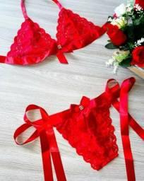 Lingerie Sexy Fitinhas Dia dos Namorados promoção