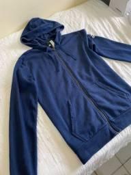 Moletom Adidas Azul TAM P (Original)