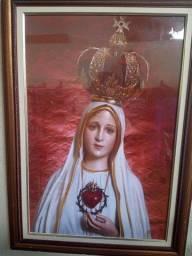 Quadro imagem de santa católica