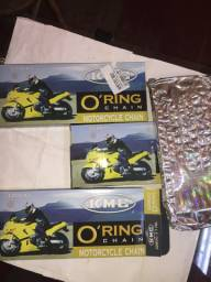 Corrente de Transmissão com retentor KMC 428-UO Ring 130 elos