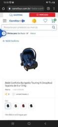 Bebê conforto Burigotto Azul (POUCO USADO)