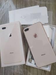 Título do anúncio: iPhone 8 plus bem novinho