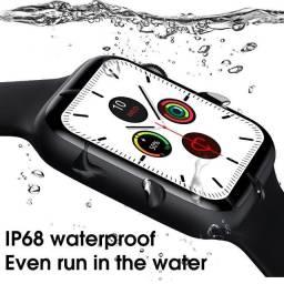 Smartwatch IWO W46 Original - Versão com watch face personalizavel