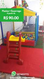Título do anúncio: Espaço kids festa piscina de bolinha