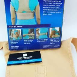 Título do anúncio: Cinta colete postura magnético bege:) entrega grátis melhor preço