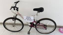 Bicicleta Full Feminina aro 26 Bike