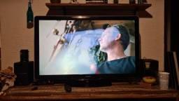"Tv Philips 46"" com mancha na tela"