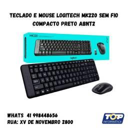 Kit logitech Mouse + teclado sem fio