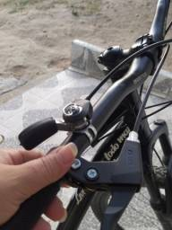 Título do anúncio: Bicicleta Caloi Vulcan Preta