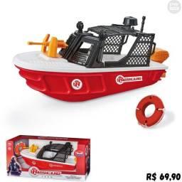Super Barco Bombeiro - Loja PW STORE