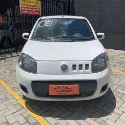 Fiat Uno Vivace 2016 Completo