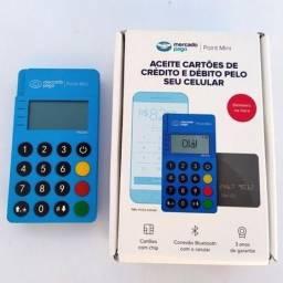 Nova Máquina De Cartão Mercado Pago Me30s Com Visor Iluminado Led