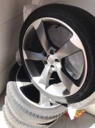 "Roda Audi RS3 18"" furacão 5x100"