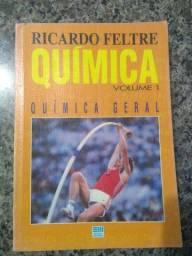 Livros de Química 1, 2 e 3 - Ricardo Feltre