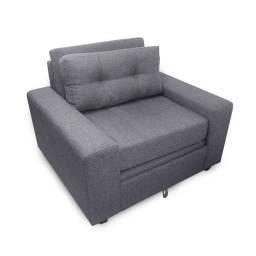 Sofá cama solteiro SF27 um lugar para pequenos apartamentos