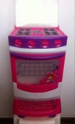Brinquedo Fogão Magic Toys / Sem Marcas De Uso