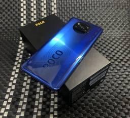 Título do anúncio: Poco X3 Azul S/NFC 6+64Gb