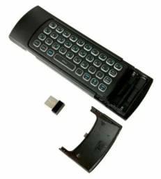 Controle Air Mouse 2.4g Com Sensor Teclado Smart Tv , Pc Box