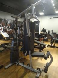 Musculação, estação multifuncional, exercícios