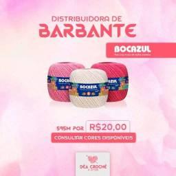 Título do anúncio: Barbante Para Crochê Colorido Bocazul N 6 Fios 100% Algodão