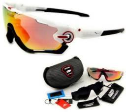 4cf6742ee6b70 Óculos de sol 3 lentes,lente polarizada,ideal para pescas,ciclistas ,motociclistas