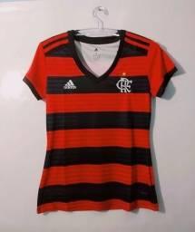 d6a49792eb Camisa Feminina Oficial do Flamengo - Temporada 2018 2019- Leia o anúncio
