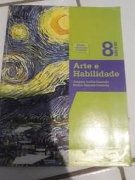 Livros 8* ano Arte e Habilidade editora IBEP