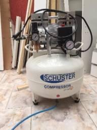 Compressor isento de óleo