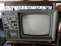 """TV portátil 5"""" para decoração"""