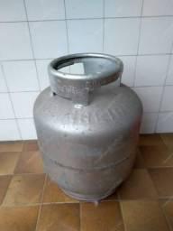 Cilindro vazio de gás para fogão