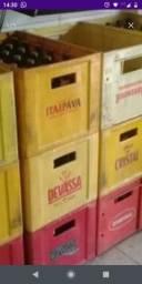 Caixas de cerveja variados 80 caixas