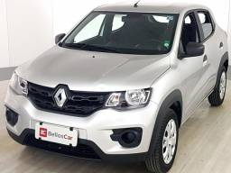 Renault KWID Life 1.0 Flex 12V 5p Mec. - Prata - 2018 - 2018