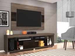 Rack para TV até 50? com Painel Tomaz - 1 Porta de Correr - Madetec
