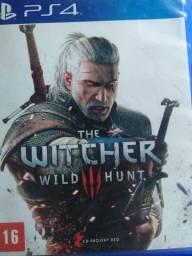 Jogo de PS4 The wictcher 3