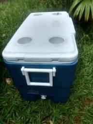 Caixa termica profissional coleman 50 litros nova