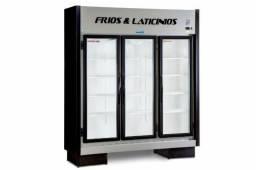 Expositor 3 portas de frios e laticinios novo pronta entrega 48984330535