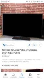 TV 42polegadas com tela quebrada semelhante da foto