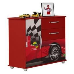 Cômoda Infantil Carro - Valen Móveis( produto novo na caixa)