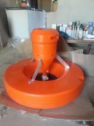 Aerador chafariz piscicultura 2CV trifásico Nunca foi usado