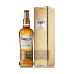 Whisky 15 Anos Dewar's na Lata + Copo Original Exclusivo