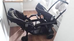 Carrinho de bebê p gêmeos