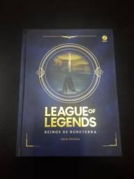 Livro League of Legends: Reinos de Runeterra