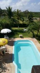 Alugo casa em salinas com flat no mesmo terreno e piscina