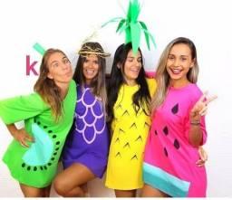 Camisão de frutas p/ carnaval