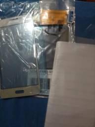 Display frontal + touch + película de vidro para j2 prime