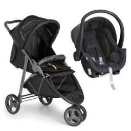 Carrinho de bebê + bebê conforto GALZERANO Cross - 3 rodas