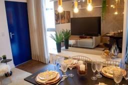 DjuE 52 -Apartamentos 2 quartos Novo Gama-Go com lazer completo- Res Viva Vida