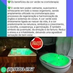 Banheiras PROMOÇÃO colorida de LED