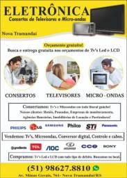 Conserto de Tvs e Microondas