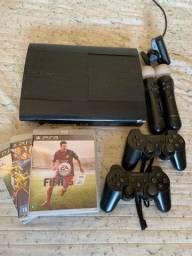 PlayStation 3 (Spotify, Amazon prime, Netflix, YouTube) na sua tv